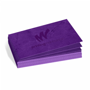 Business Cards Velvet Soft Touch